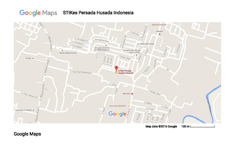 stikes-persada-husada-indonesia-google-maps